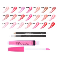 Блеск для губ Divage Vinyl Gloss + Transparent Lip Liner