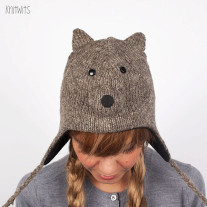 Шапка KNITWITS Squirrel (Grey)